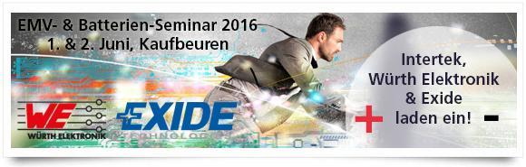 Intertek EMV- und Batterie-Seminar