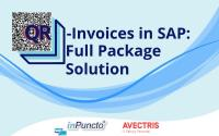The all-in-one solution from inPuncto & Avectris to process all types of QR-invoices