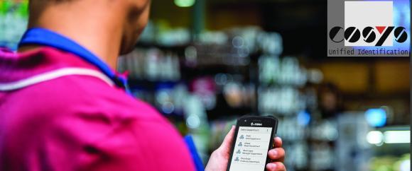 COSYS Retail Management mit Zebra TC21 / TC26 für den Lebensmittelhandel