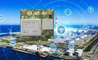 LAIRD Connectivity LTE-M / NB-IoT Modem mit Antenne für die Industrie. Sensoren und Komponenten über Bluetooth 5 in die Cloud.