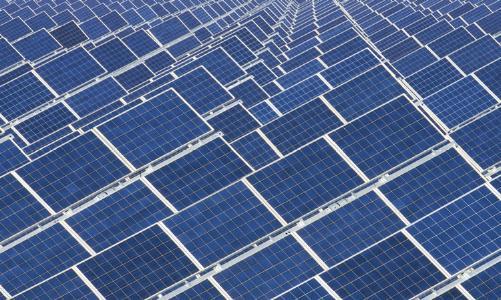 Solarzellen; Quelle: Depositphotos