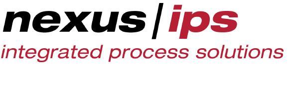 Logo der neuen Gesellschaft NEXUS / IPS GmbH