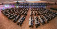 Der Partnerkongress von dormakaba in Wiesbaden war sehr gut besucht,  Bildrecht: dormakaba
