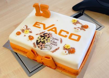 EVACO GmbH feiert 15-jähriges Bestehen