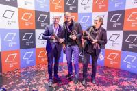 """fischerAppelt, live marketing und Lichtfaktor freuen sich über den BrandEx Award in Bronze für das """"Grand Opening der Qatar National Library"""" (Foto: Mario Frommhold)"""