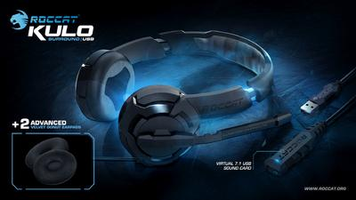 ROCCAT(TM)  to Ship New Velvet Donut Earpads with Kulo Headsets