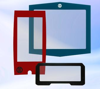 Individual custom PCAP touchscreen-design / Copyright: Distec GmbH