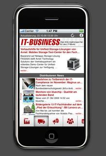 Neue mobile Applikation von IT-BUSINESS jetzt verfügbar
