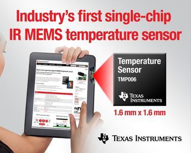 Texas Instruments MEMS innovation brings IR temperature measurement to portable consumer electronics