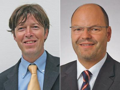 German Stuis (46) and Oliver Volland (41) are managing directors of KBA-Metronic GmbH operating in the industrial labelling business