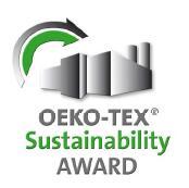 Nach OEKO-TEX® Standard 100, 1000 bzw. 100plus zertifizierte Textilhersteller und Handelsunternehmen, die sich im Sinne Ihrer Kunden, Mitarbeiter und Umwelt besonders verantwortungsvoll verhalten, werden 2013 mit dem OEKO-TEX® Sustainability Award ausgezeichnet.