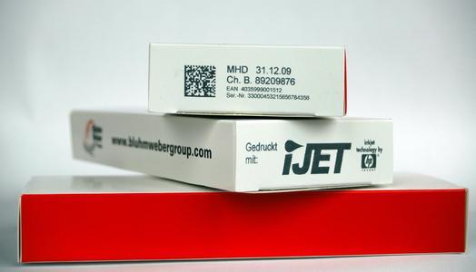 Der IJet ist ein Hochleistungscodiersystem, das sich sehr gut in Verpackungsanlagen integrieren lässt