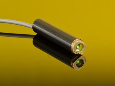 Direct Green Laser Diodes in All FLEXPOINT Laser Modules
