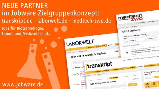 Jobware und BIOCOM AG bauen Kooperation im Stellenmarkt aus