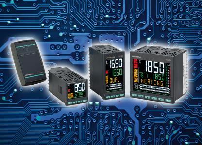 Die ein- oder zweikanaligen PID- und Programmregler der Serie Performance von GEFRAN sind in den drei Versionen 850, 1650, 1850 lieferbar