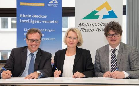 Metropolregionen Rhein-Neckar und Hamburg schließen Kooperationsvereinbarung