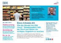[PDF] Pressemitteilung: Wie der Einsatz von IBM CloudTM Einzelhändlern hilft, bei Wind und Wetter die richtigen Angebote zu machen