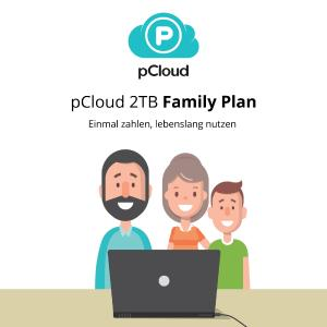 pCloud 2TB Lifetime Family Plan