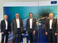 Night Star Express Beirat v.l.n.r: Dirk Rahn, Arnold Schroven, Matthias Hohmann und Dr. Christian Jacobi