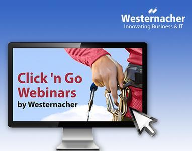 Westernacher Click 'n Go Webinare