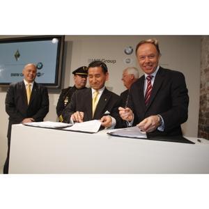 Pressekonferenz der BMW Group mit Carbon Motors Corp.