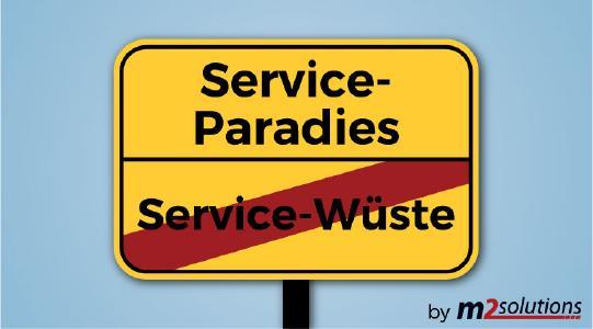 Mit einem IT-Service-Vertrag ist Schluss mit der Service-Wüste: Schnelle Reaktionszeiten bei IT-Notfällen und regelmäßige Wartung stehen auf dem Plan (Nutzung honorarfrei)
