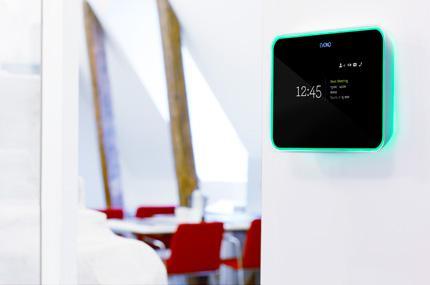 Grün - EVOKO zeigt einen freien Meeting-Raum an