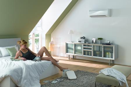 Ein hochwertiges Klimagerät wie das CAWR25i von STIEBEL ELTRON sorgt nicht nur für angenehme Temperaturen, sondern für echtes gesundes Wohlfühlklima