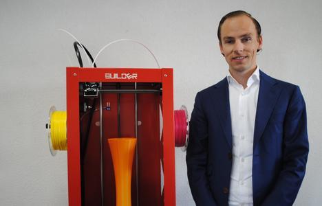 Niels Hunck, Sales Manager bei Builder3D