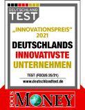 """Das Magazin FOCUS-MONEY zeichnete zusammen mit DEUTSCHLAND TEST die HARTING Technologiegruppe mit dem diesjährigen """"Innovationspreis"""" aus"""