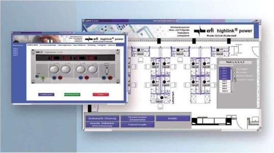 erfi - highlink Power - fernsteuerbare Laborraumausstattung