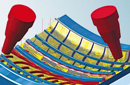 5Achs-Form-Offsetschruppen in Kombination mit hyperMAXX®, Bildquelle: OPEN MIND