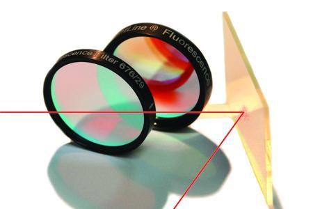 Semrock´s Spiegel und Filter mit hart gesputterten Schichten
