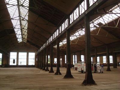 Nach langem Leerstand wurden die Voraussetzungen für Modernisierung und Umbau der Hallen geschaffen.