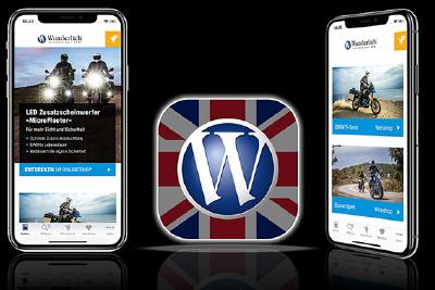 Launch of the Wunderlich-App in English on March 8, 2019 Wunderlich-AppDays from the 15th of March 2019!