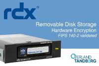 Sicherheitszertifikat für RDX-Verschlüsselung