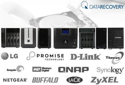 NAS Datenrettung durch DATARECOVERY®