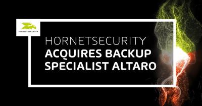Hornetsecurity kauft VEEAM-Konkurrent Altaro