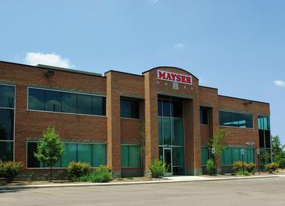 Gebäude der Mayser USA, Inc.