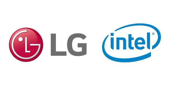 Bild LG Intel Partnership
