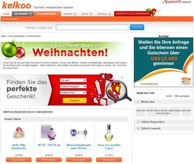 sch ner schenken mit der shopping suchmaschine kelkoo kelkoo deutschland gmbh pressemitteilung. Black Bedroom Furniture Sets. Home Design Ideas