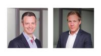 Die neuen Geschäftsführer von ORBIT: Sebastian Rutz und Tobias Hejna