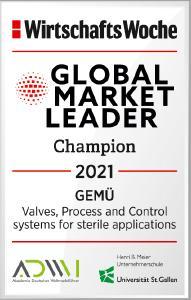 WiWo GlobalMarketLeader Champion 2021 GEMUE