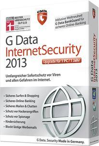 G Data InternetSecurity 2013