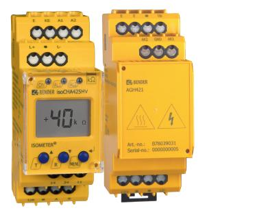 NEW – Insulation monitoring device isoCHA425HV