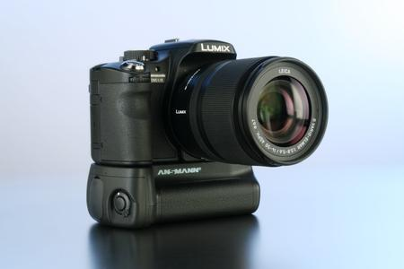 New ANSMANN Battery Grips for Panasonic Lumix L 10 and Canon