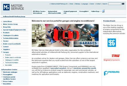 Screenshot Werkstattportal