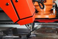 Das drahtbasierte Laserauftragsschweißen LMD-W ist ein AM-Verfahren, das am Fraunhofer IPT erforscht und erprobt wird