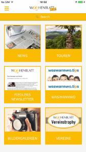 Screenshot Wochenblatt to go