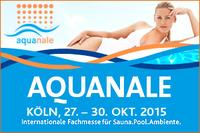 Fair hostesses of the Dusseldorf based agency PTS working at the Aquanale 2015